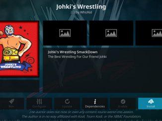 Johki's Wrestling Addon Guide - Kodi Reviews