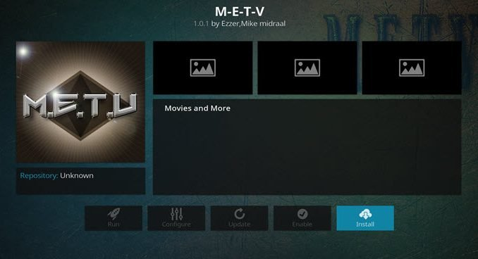 M.E.T.V Addon Guide - Kodi Reviews
