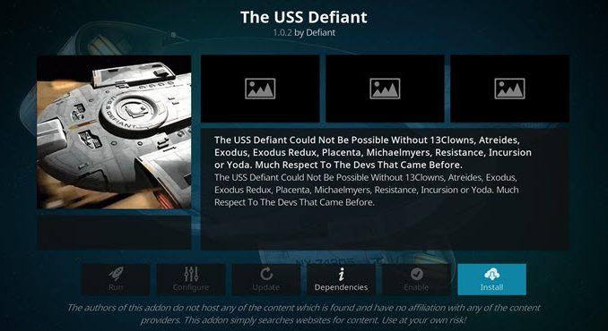USS Defiant Build Guide - Kodi Reviews
