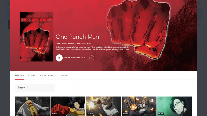 How to Watch One-Punch Man Online in 2019
