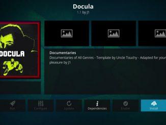 Docula Addon Guide - Kodi Reviews