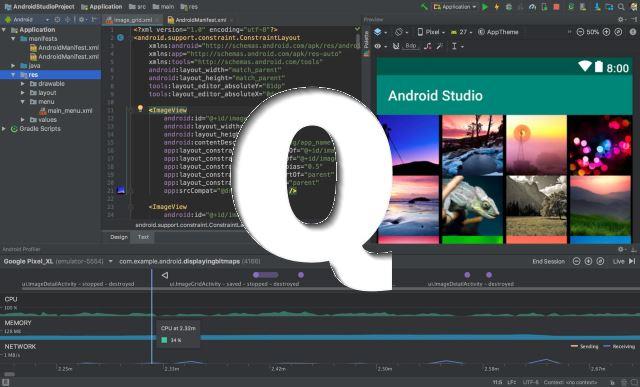 Android Studio Q