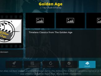 Golden Age Addon Guide - Kodi Reviews