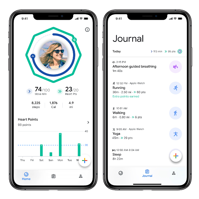 Google Fit comes to Apple iPhone - Husham com
