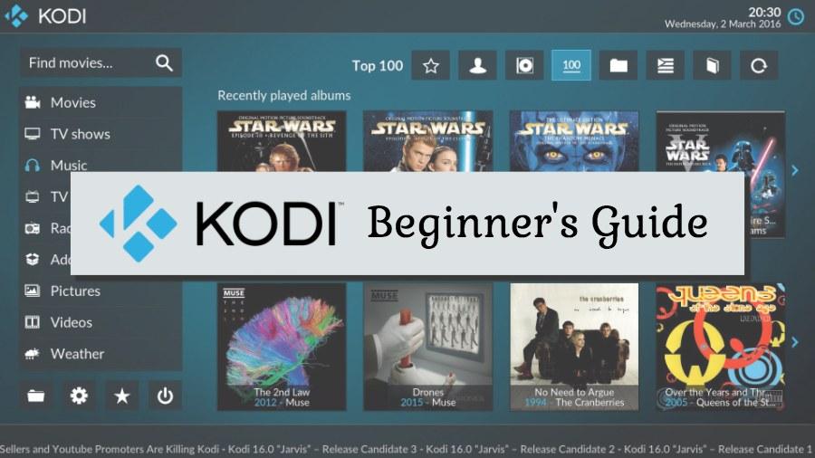 kodi beginner's guide