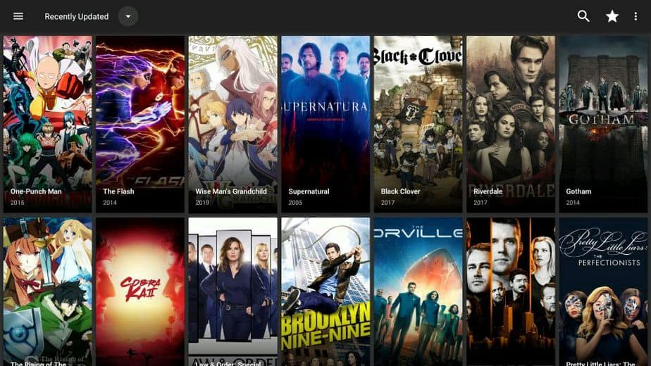 CyberFlix TV on Firestick or Android box