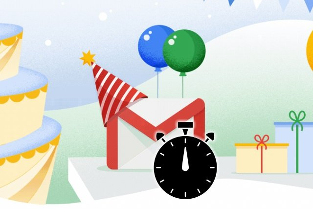 Gmail timer