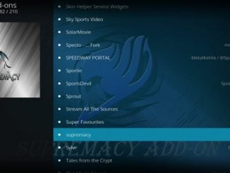 Supremacy Addon Guide - Kodi Reviews