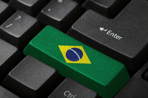 Brazil flag keyboard