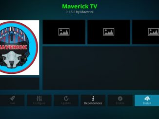 how to install maverick tv kodi addon