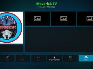 how to install maverick tv kodi addon