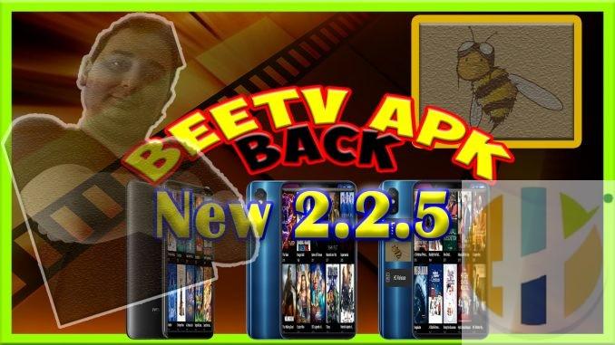 BeeTV APK 2 2 5 Stream Movies TV Shows Android Smart TV