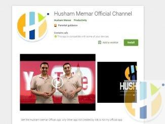 Husham Memar official youtube channel APK