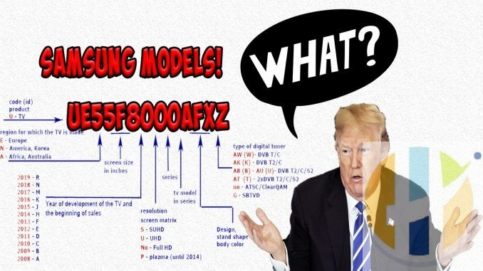 Trump US President is confused with Samsung Models