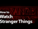 How to Watch Stranger Things Online in 2019: Havoc in Hawkins