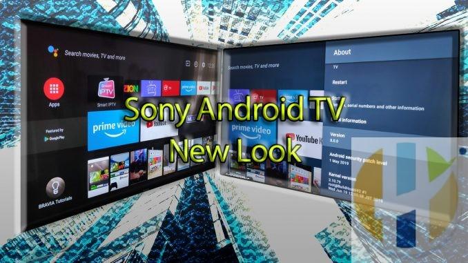 Sony's SMART TV Firmware update looks like NVIDIA SHIELD