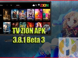 TVzion beta apk