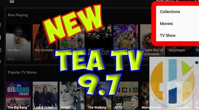 TEATV APK 9 7 IPTV Stream Movies TV Shows with Android