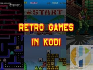 KODI RETRO GAMES