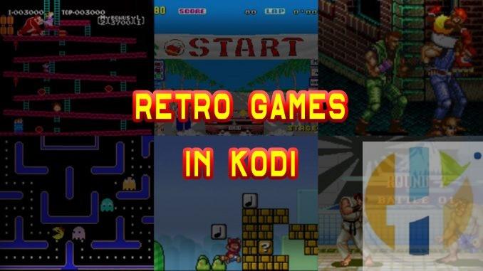 KODI RETRO GAMES