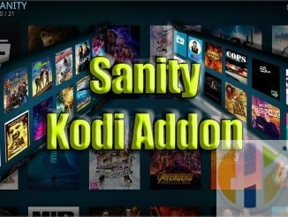 Sanity KODI Addon