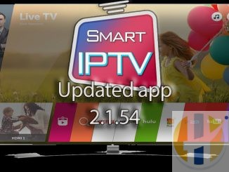 Smart IPTV LG TV Web OS