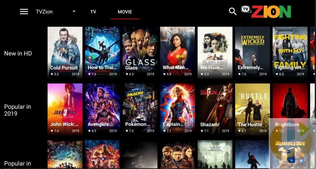 TVZion Movies APK Pictuer