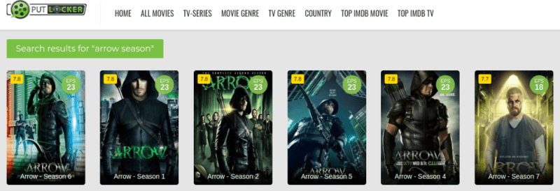 Arrow-PutLocker