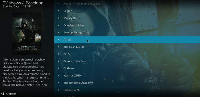 arrow-kodi
