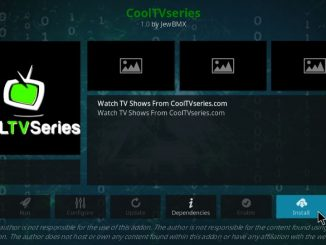 how to install cooltvseries addon on kodi