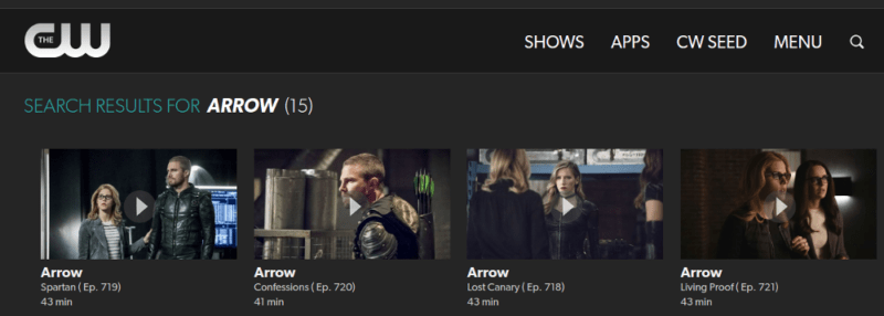 Arrow-TheCW