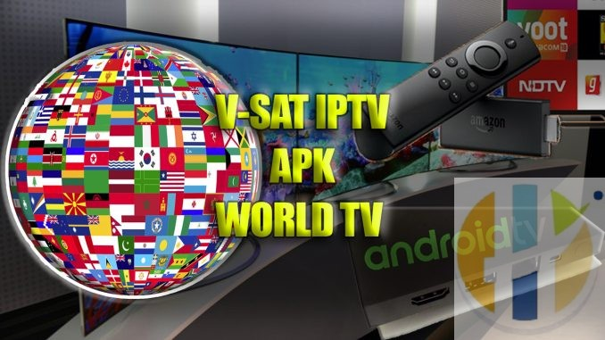 V-Sat v2 6 8 IPTV APK USA UK Arabic OSN Bein Sports FREE