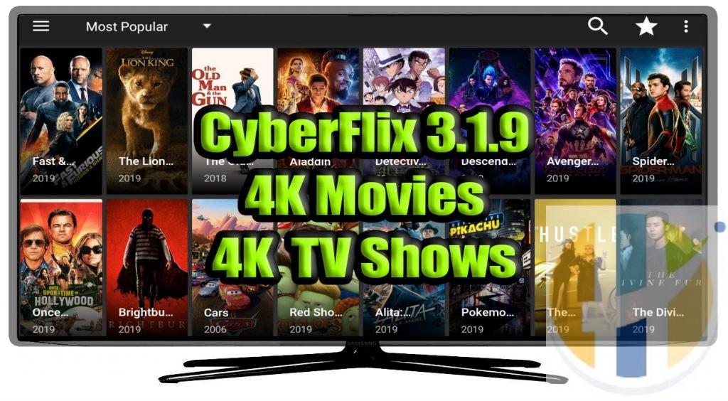 CYBERFLIX 4K MOVIES