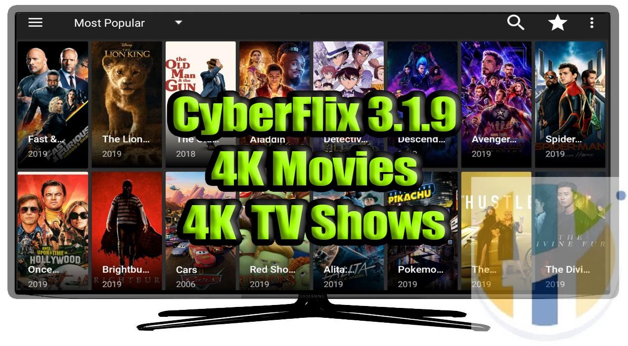 Cyberflix TV APK 3 1 9 New Release - Best Terrarium TV