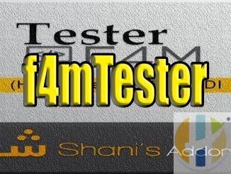 f4mTester kodi addon