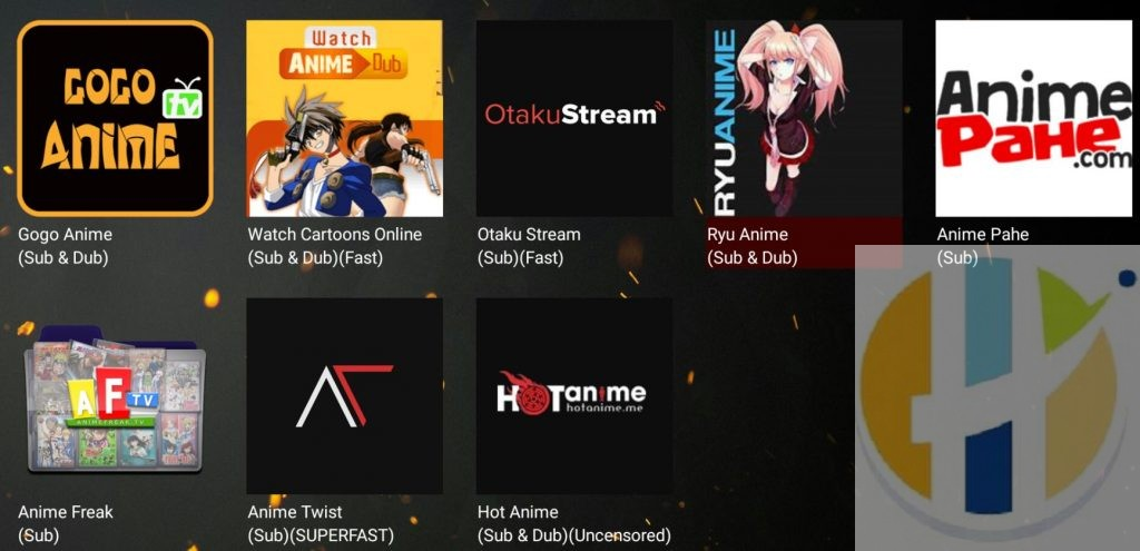 Fire Anime 2 9 6 APK for Android TV's, Fire Sticks, NVIDIA