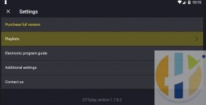 OTTPlay IPTV Player 1 7 8 2 Download - Husham com APK