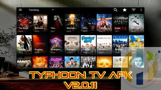 Typhoon TV 2 0 11 APK Stream Movies and TV Shows to your TV