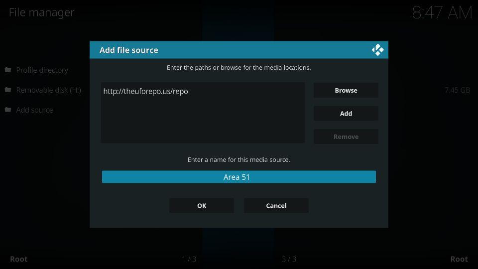 install area 51 iptv addon on kodi