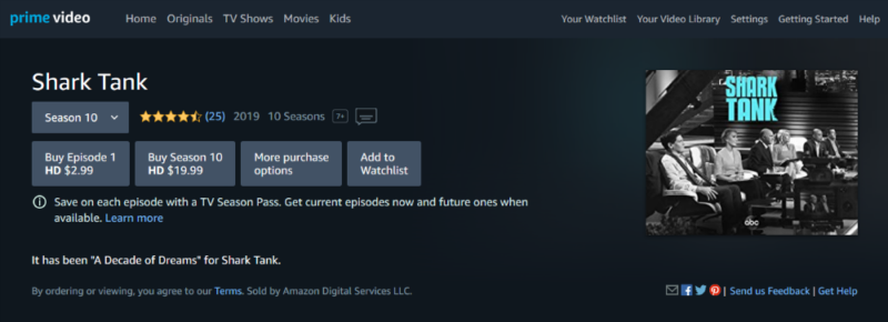 how-to-watch-shark-tank-amazon-prime-video