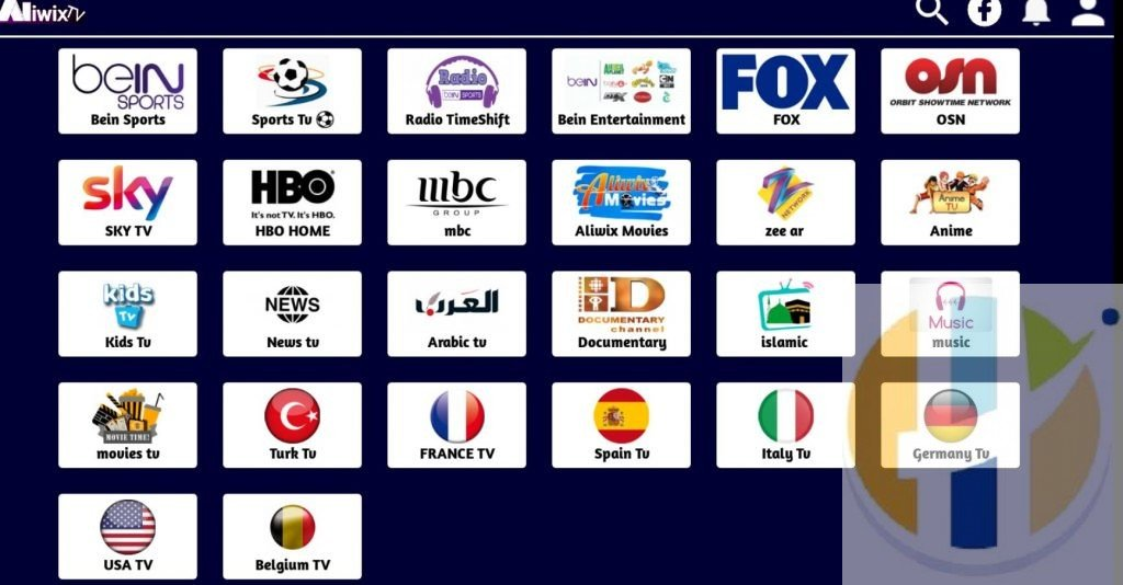 ALIWix TV IPTV APK - Android Firestick NVIDIA Shield Windows