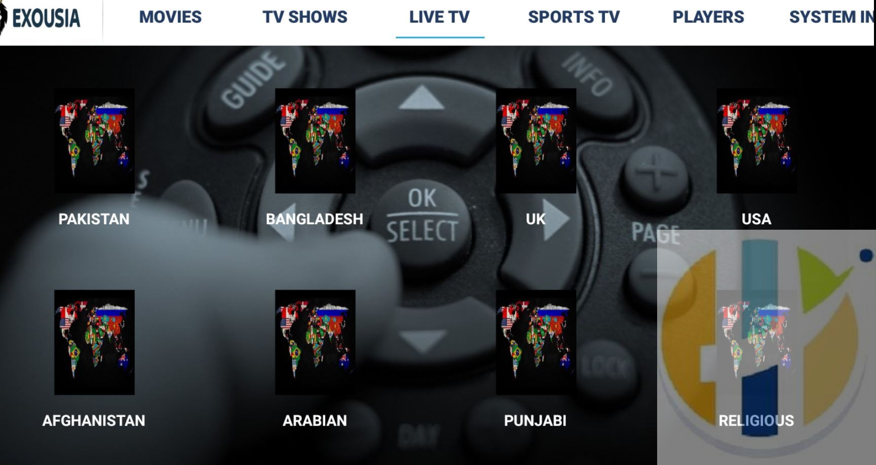 Exousia_IPTV_Live_tv