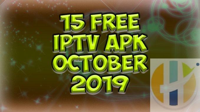 Free IPTV APK 2019