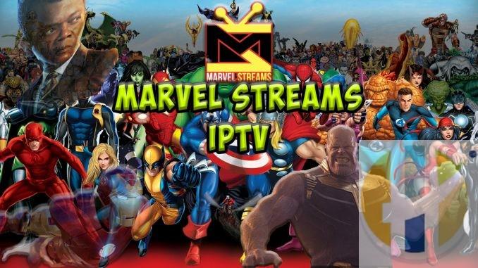 Marvel Streams IPTV Paid Service