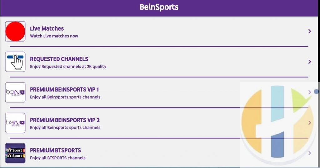 BeinSports IPTV APK