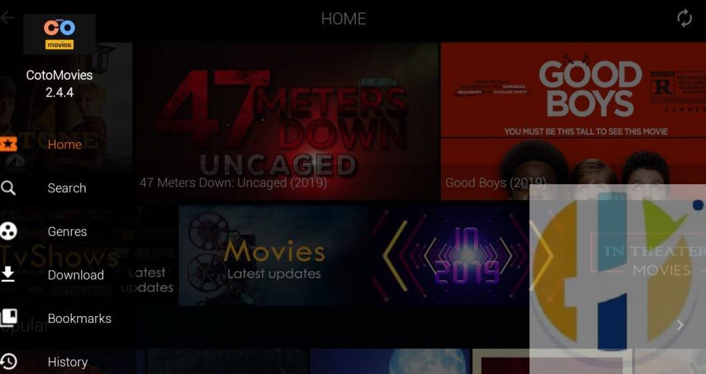Coto Movies APK Firestick NVIDIA Shield