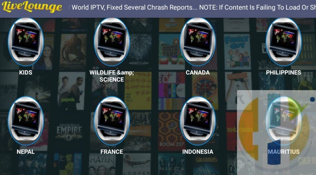 Livelounge APK IPTV Free Streaming Android TV Shows