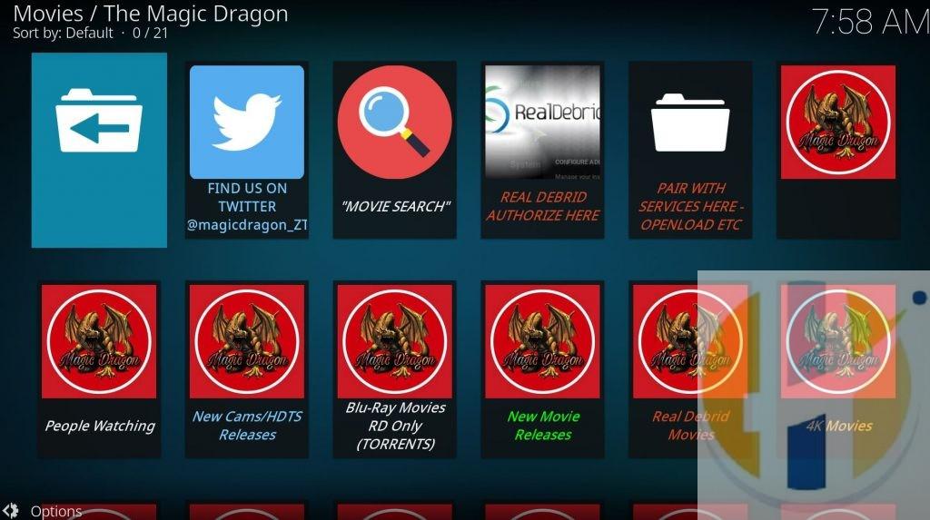 Magic KODI Addon Movies TV Shows Firestick Windows MAC Android NVIDIA Shield