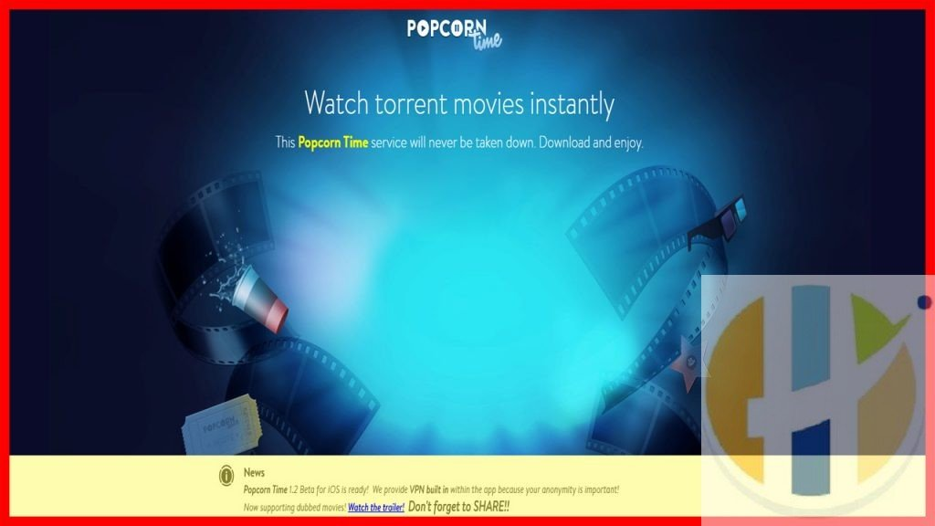 Popcorn Time Movies TV Shows Android Windows Firestick NVIDIA Shield MAC