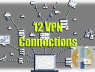 Strong 12 VPN connections same time